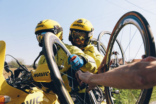 Not all superheroes wear lycra: Paris-Roubaix race day with Mavic neutral service