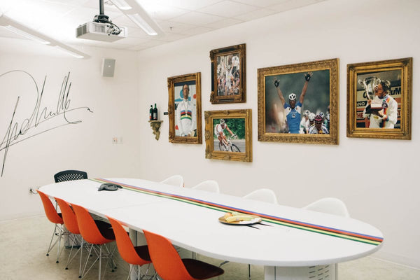 Why Specialized have a boardroom dedicated to Mario Cipollini