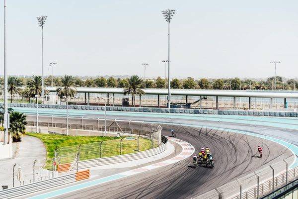 A sense of space: scenes from the pros' track day in Abu Dhabi