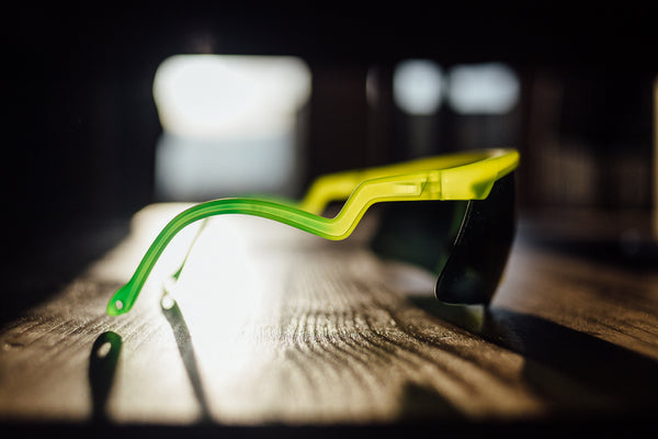 Petrol station chic: Alba Optics' Delta glasses