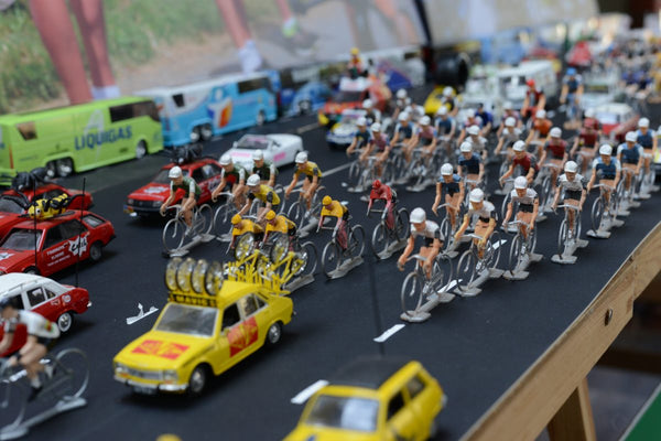 Collecting memories of the Tour de France