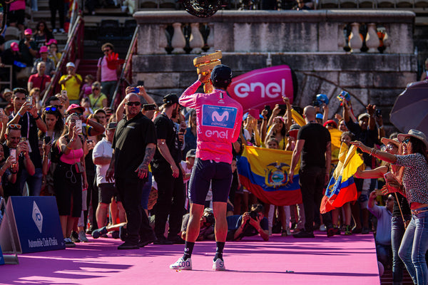 The Road Book 2019: Richard Carapaz tells of an unlikely Giro victory