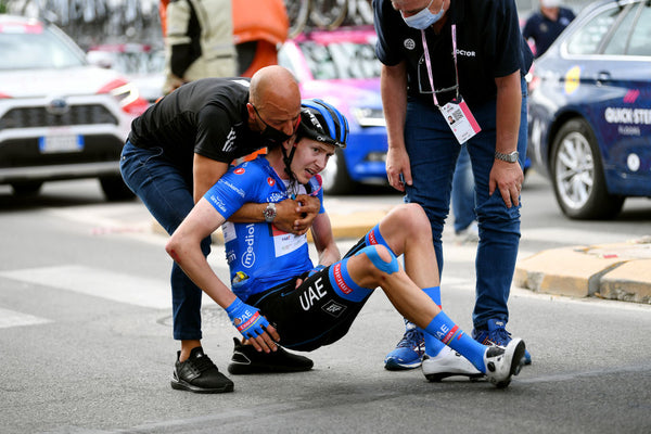 Concussion at the Giro: Dombrowski, Mohorič and the latest protocol