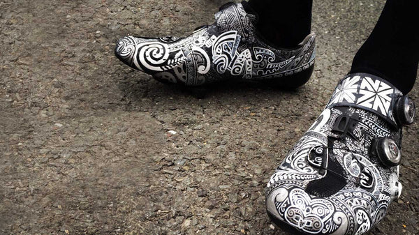 Shoe gazing: George Bennett and his hand-painted kicks