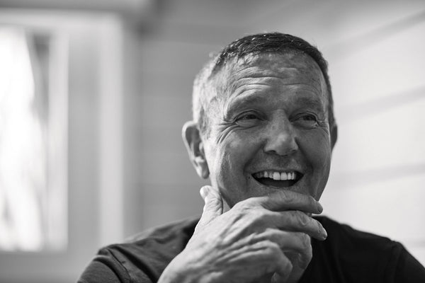 On the farm with Roger De Vlaeminck