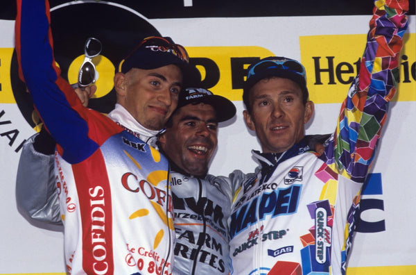 The last all-Belgian podium at the Tour of Flanders
