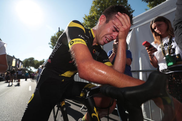 Just keep going: inside the fight for Tour de France survival