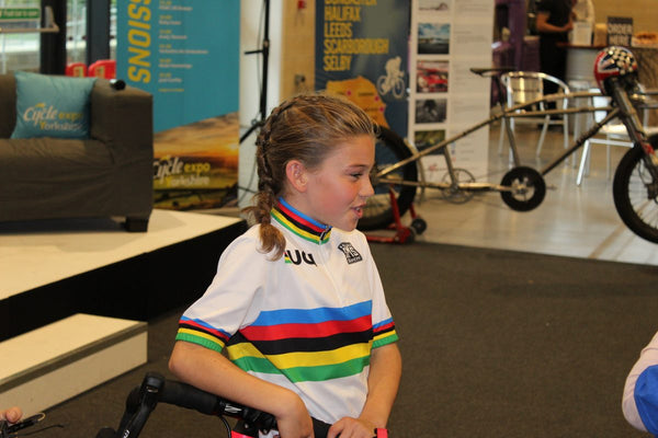 Why Trek-Segafredo have signed ten-year-old school girl, Ruby Isaac