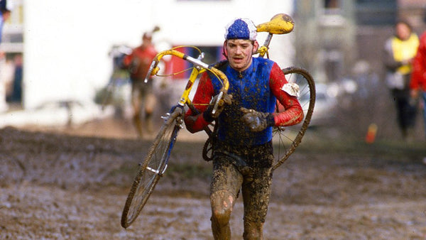 Rainbows in the mud: Britain's first cyclo-cross world champion