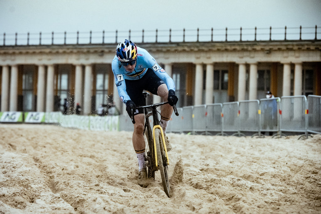 Wout Van Aert on the Sand Section