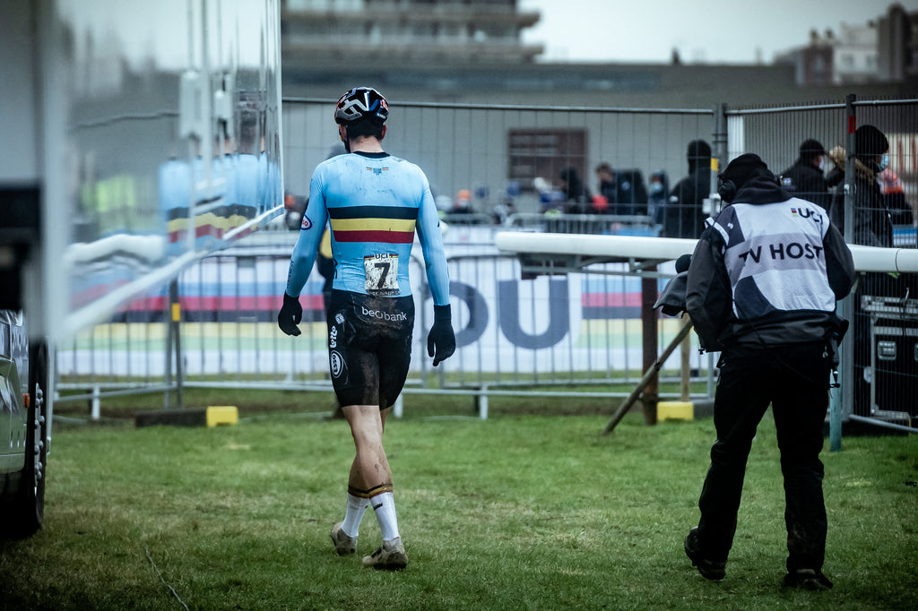 Wout Van Aert disheartened after the race