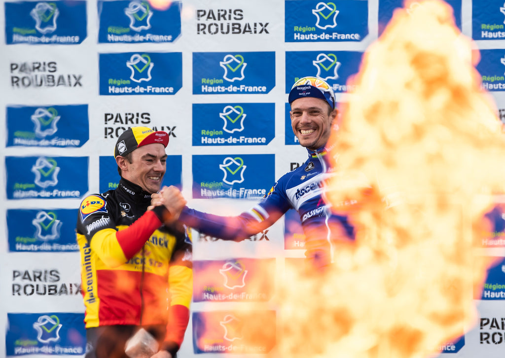 Yves Lampaert and Philippe Gilbert