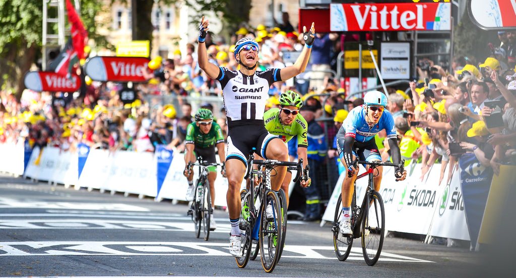 Marcel Kittel wins at the Tour de France