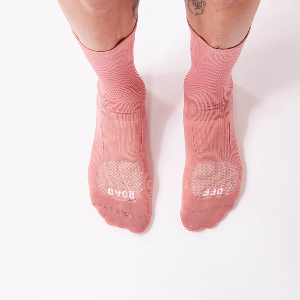 Fingerscrossed Socks - Off-Road - Dusty Pink