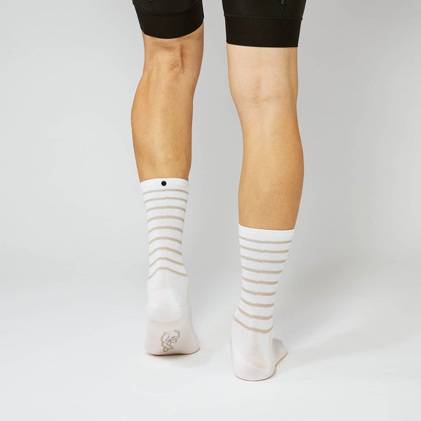 Fingerscrossed Socks - Ringlet - White/Sand