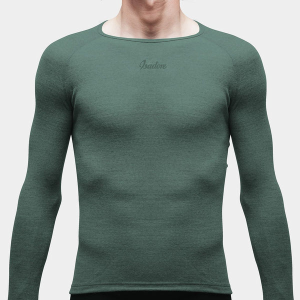 100% Merino LS Baselayer Laurel Wreath
