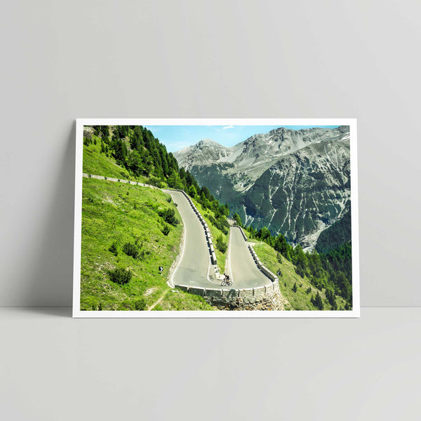 Stelvio | The Upper - Art Print - Daniel Hughes