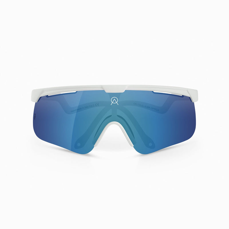 Delta Sunglasses - White - Rouleur