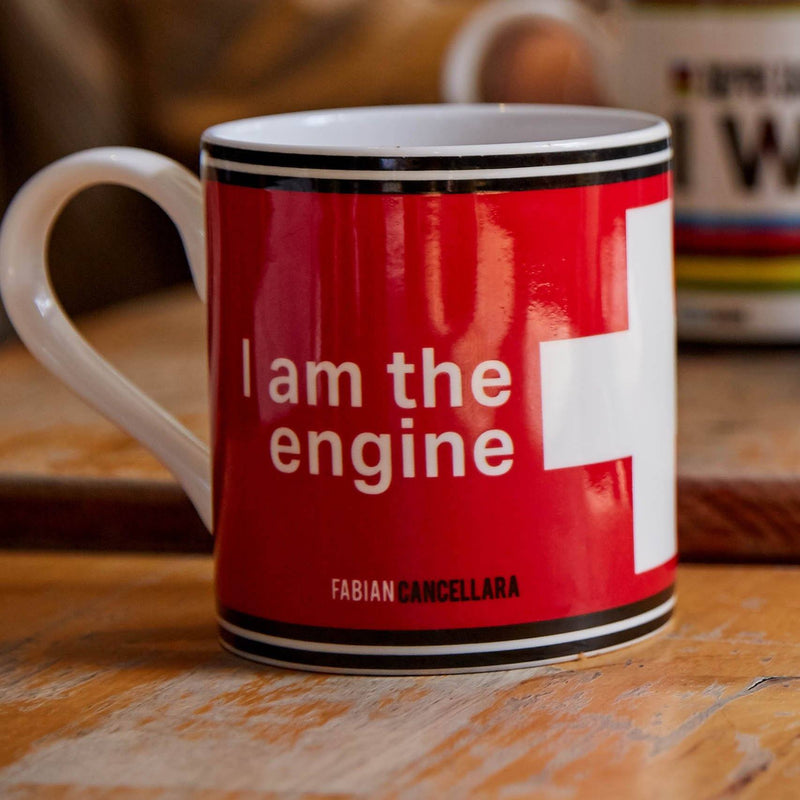 Fabian Cancellara - Bone China Mug - Rouleur