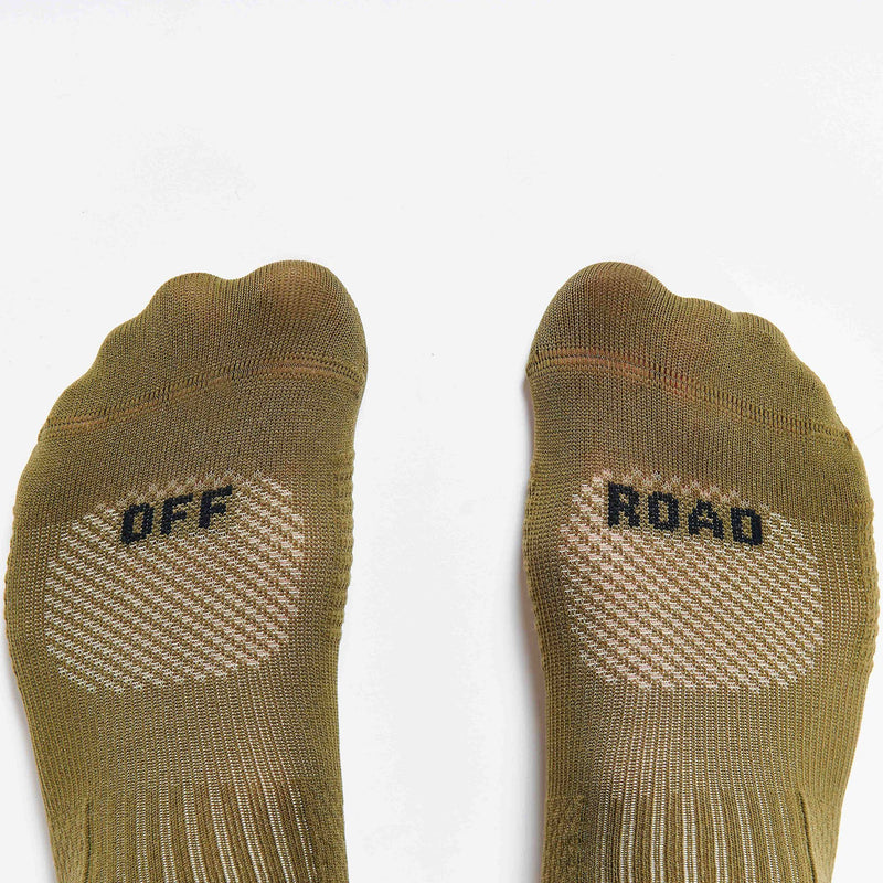 Fingerscrossed Off-Road Socks - Olive Socks Fingerscrossed