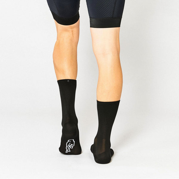 Fingerscrossed Socks - Classic Black - Rouleur