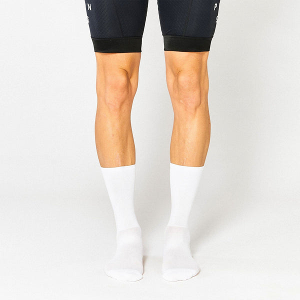 Fingerscrossed Socks - Classic White - Rouleur