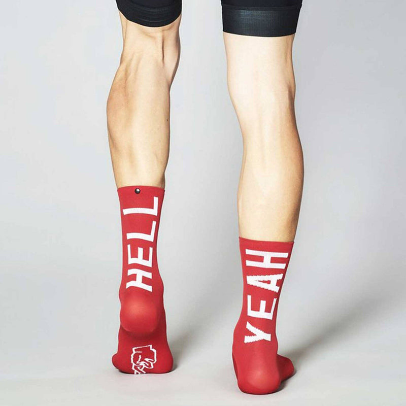 Fingerscrossed Socks - Hell Yeah 2.0 - Flamme Rouge - Rouleur