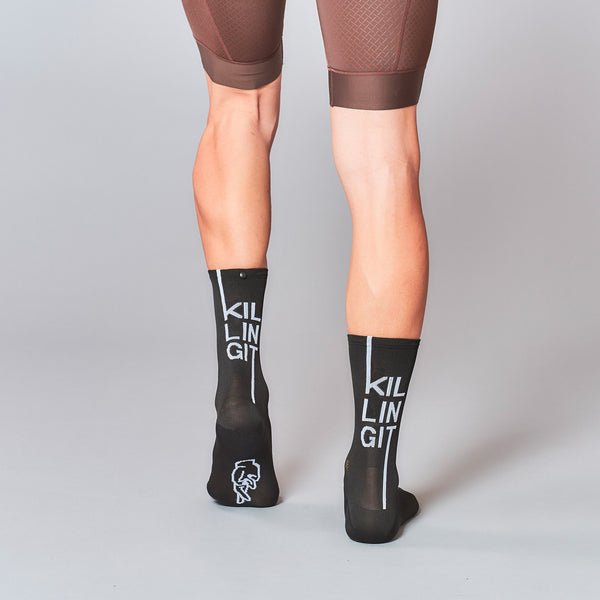 Fingerscrossed Socks - Killing It - Black - Rouleur