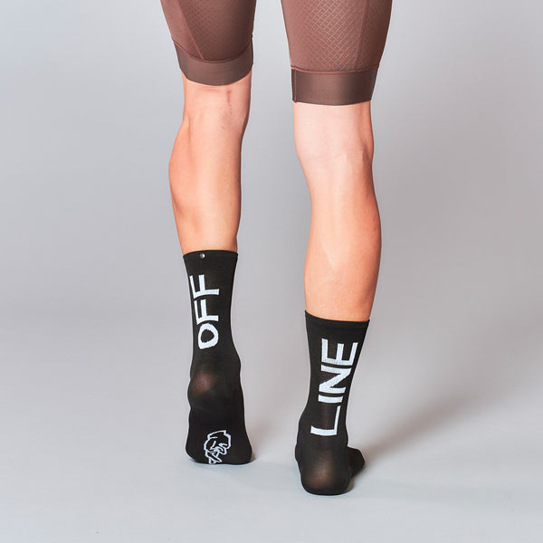 Fingerscrossed Socks - Offline - Black - Rouleur