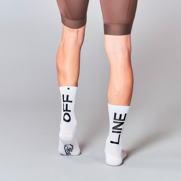 Fingerscrossed Socks - Offline - White - Rouleur