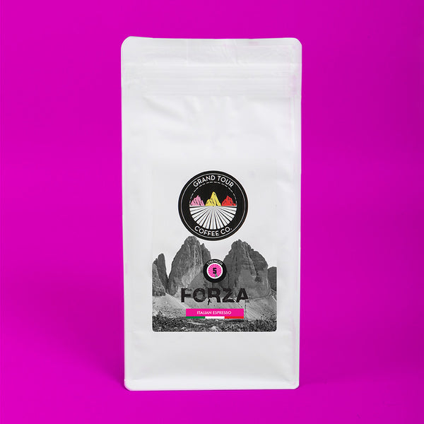 "Grand Tour Coffee - ""Forza"" Whole Beans - 250g"