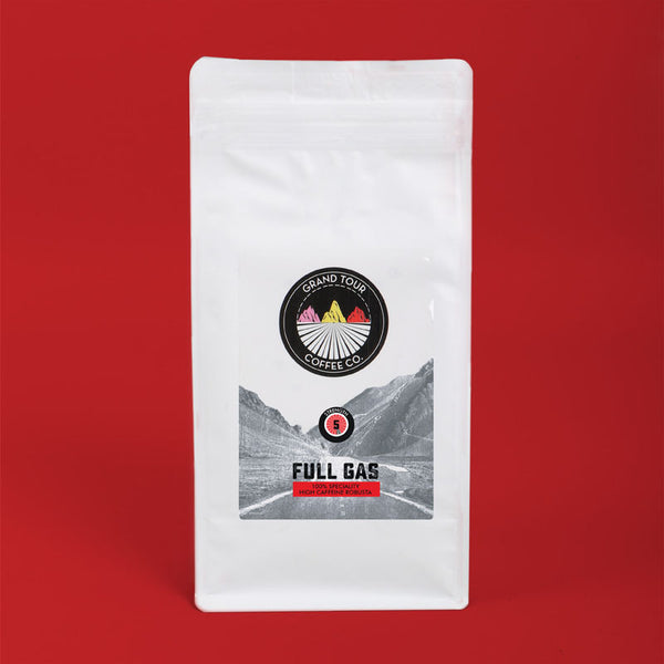 Grand Tour Coffee - Full Gas Whole Beans - 250g