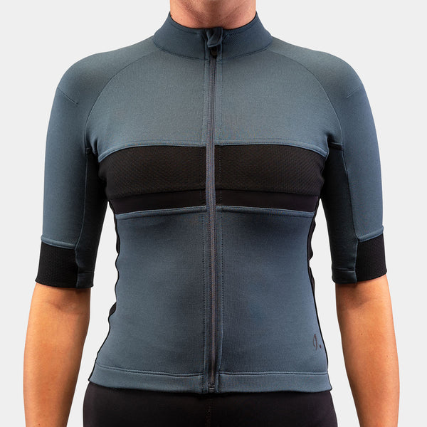Gravel Jersey Orion Blue Women