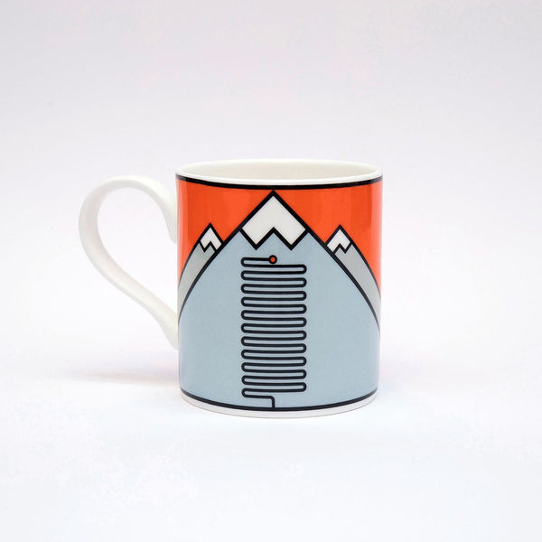 L'Alpe D'Huez - The Handmade Cyclist Mugs - Rouleur