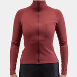 Long Sleeve Jersey Ruby Wine Women
