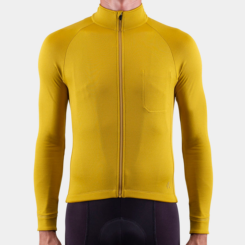 Long Sleeve Jersey Olive Oil
