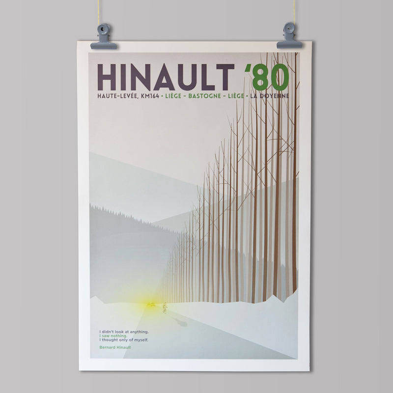 Panache Art Print - Hinault '80 Art Print The Handmade Cyclist