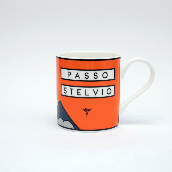 Passo Stelvio - The Handmade Cyclist Mugs - Rouleur