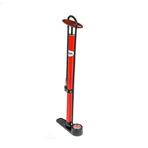 Pista Floor Pump - Red - Rouleur