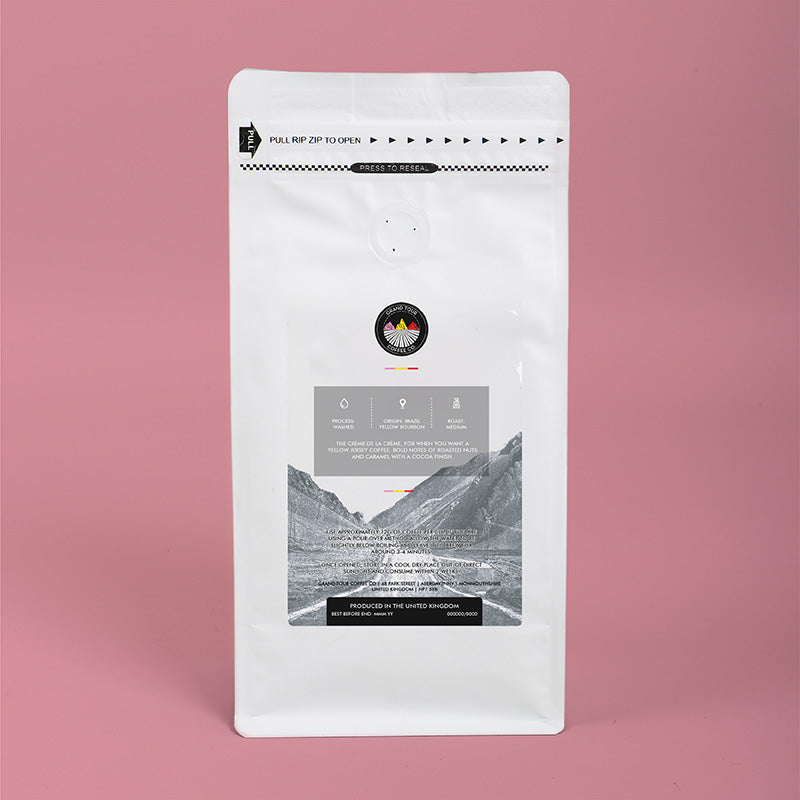 Grand Tour Coffee - Podium Whole Beans - 250g