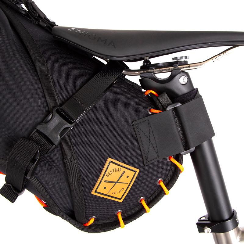 Saddle Bag - Black/Orange - Rouleur