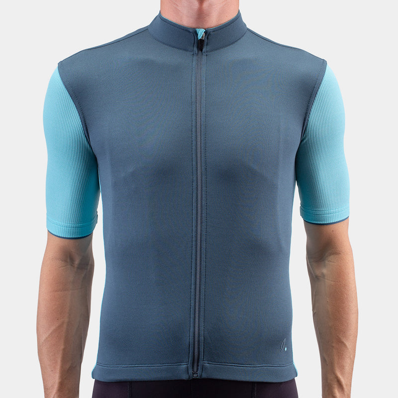 Signature Cycling Jersey Orion Blue/Aquarelle
