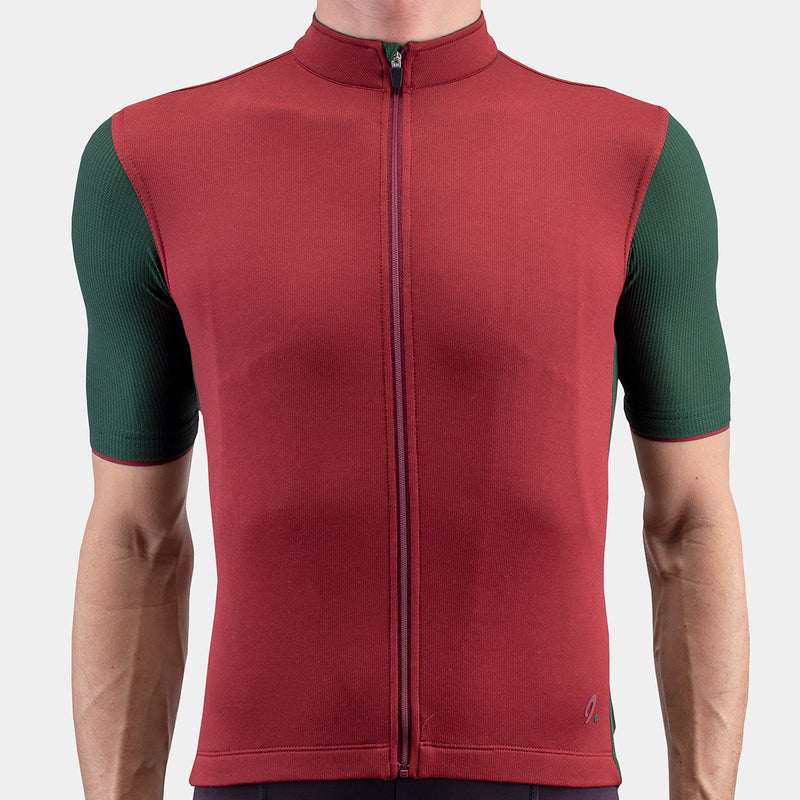 Signature Cycling Jersey Cabernet/Sycamore