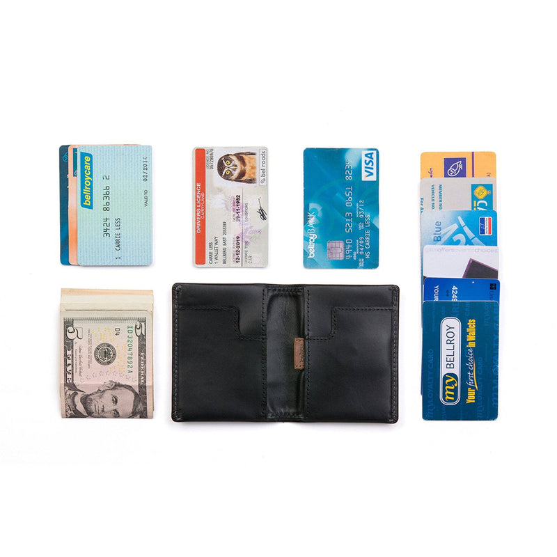 Slim Sleeve Wallet - Black - Rouleur