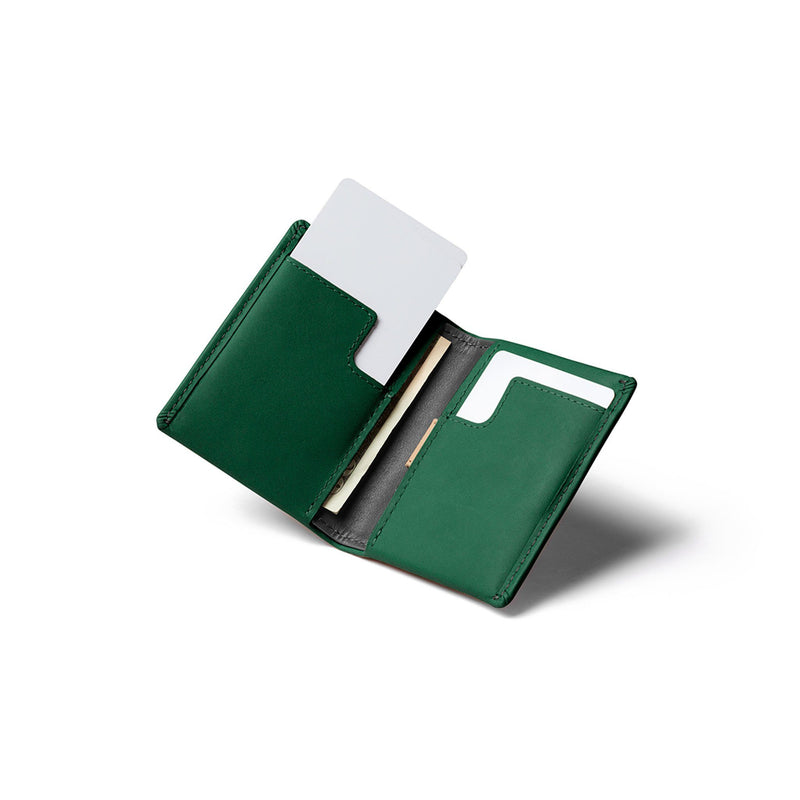 Slim Sleeve Wallet - Racing Green - Rouleur