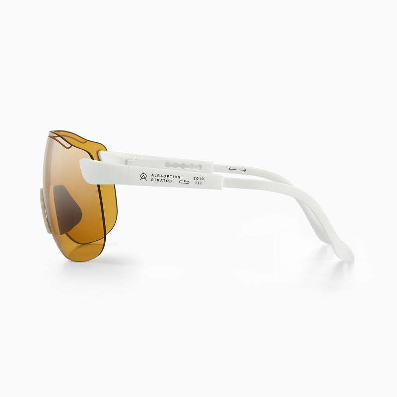 Stratos Sunglasses - White - Rouleur