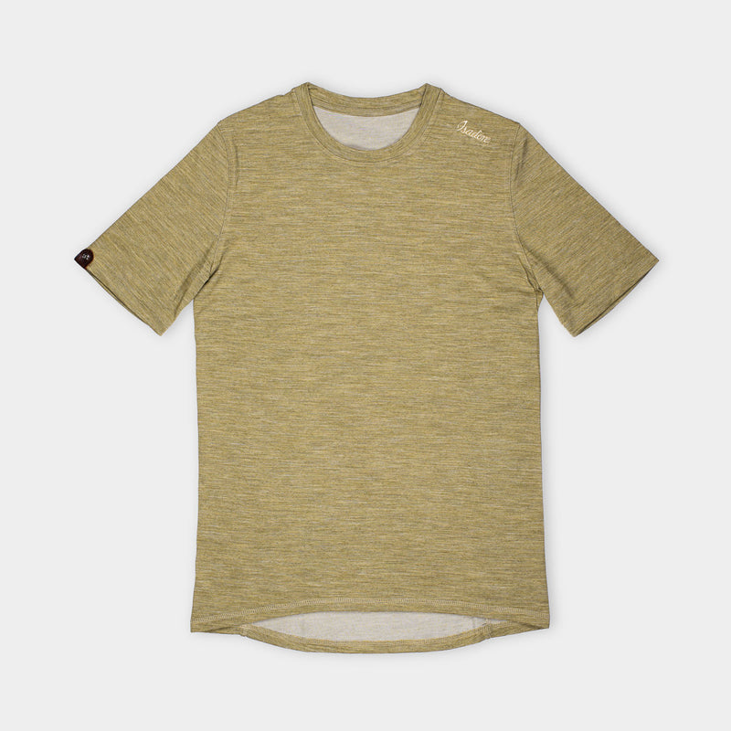 Urban Merino T-Shirt Golden Palm
