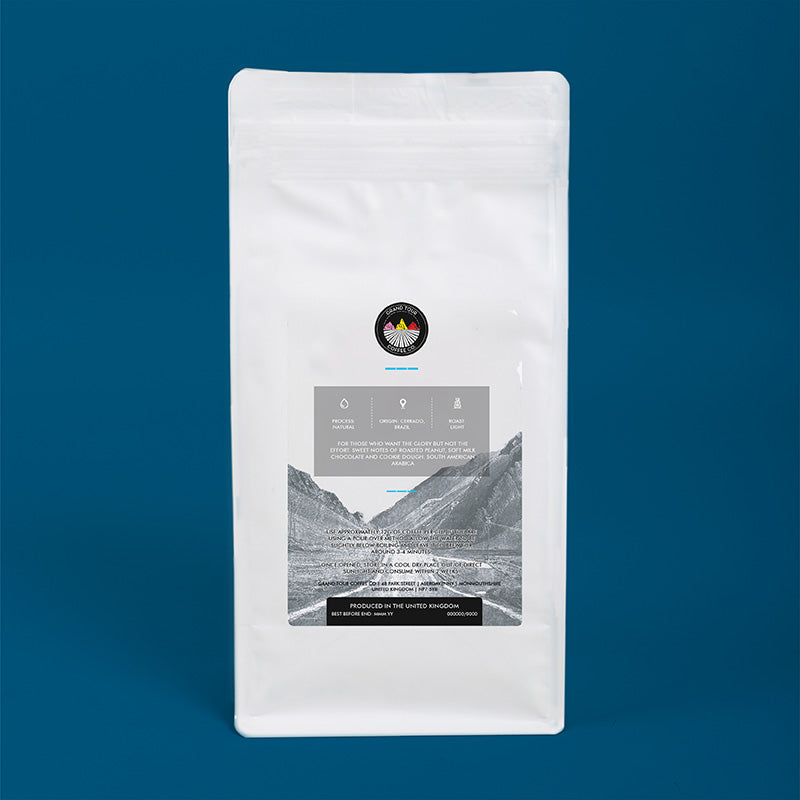 Grand Tour Coffee - Wheel Sucker Whole Beans - 250g