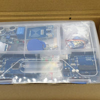 arduino Starter Kit UNO r3 with MEGA 2560/UNO R3 /Lcd1602 I2C /Hc-sr04/HC-SR501/RC522/SG90/ Dupont cable in plastic box