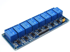 TENSTAR ROBOT 10pcs With optocoupler 8 channel 8-channel relay module relay control panel PLC relay 5V modul